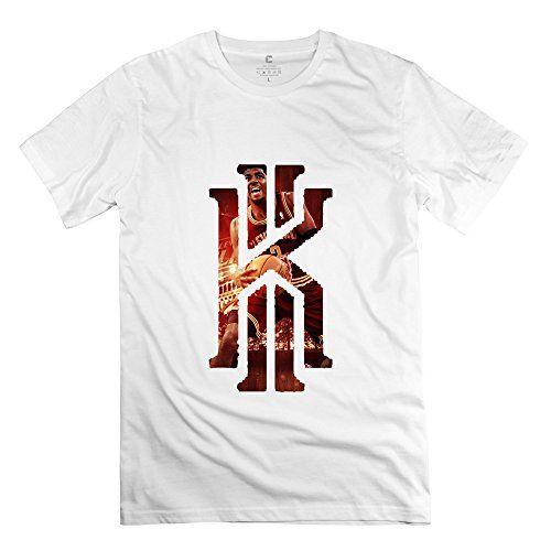 HTAD Men's Kyrie Irving Logo 100% Cotton Tee White