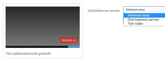 Youtube videolarına filigran ekleyerek, izleyicilerin bu filigran üzerinden…