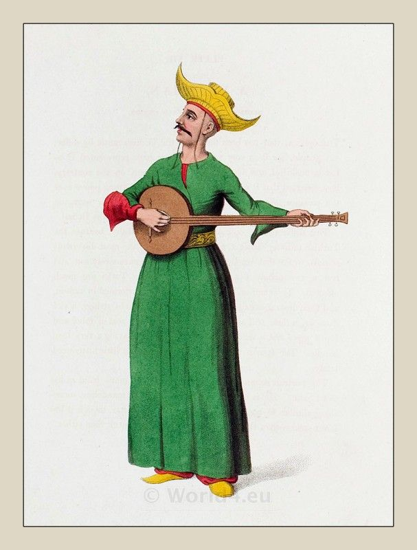 Ottoman Turkish musician - possibly Gonzalo
