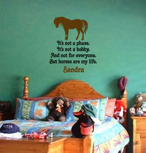 Best Wall Decals Images On Pinterest Wall Decals Horse Wall - How to put a decal on my wall