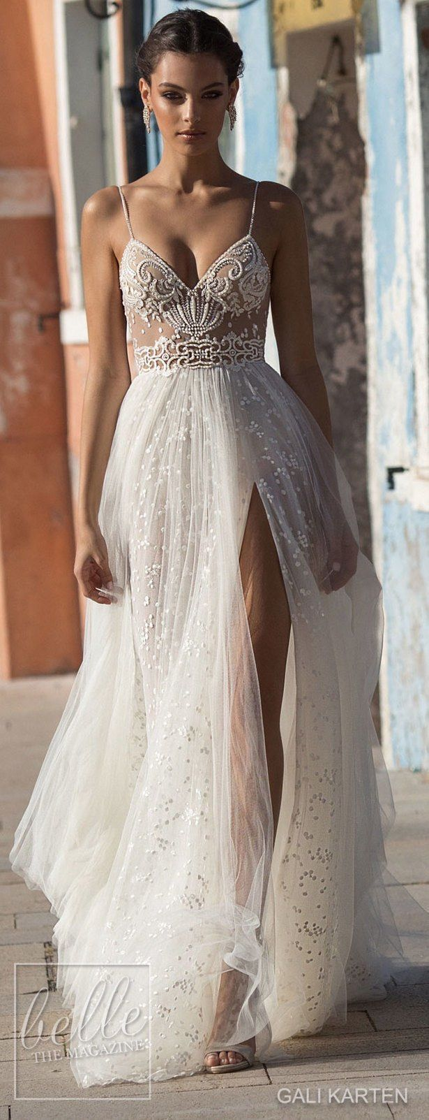 Gali Karten Wedding Dress 2018 - Burano Bridal Collection #weddingdress #bridalgown #weddingdresses