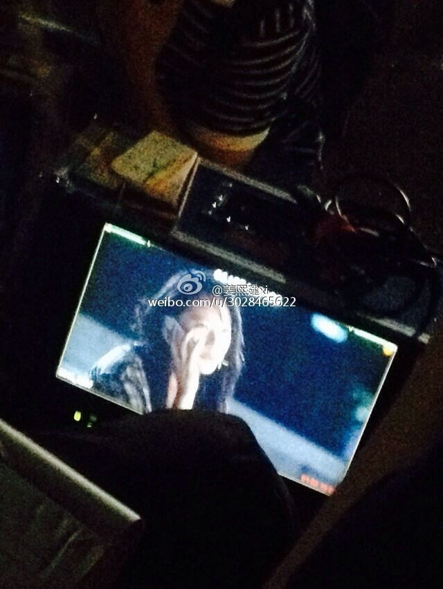 f(Krystal) Filming ''My Lovely Girl''