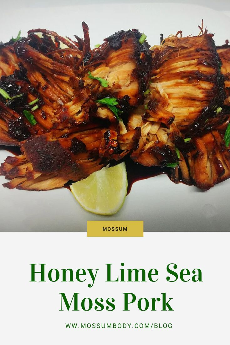 Mossum sea moss can be added to anything the versatile