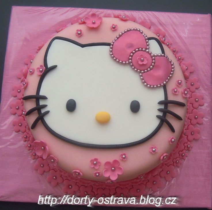 Best Hello Kitty Birthday Cake Ideas On Pinterest Hello - This cat eating a birthday cake is everything you need in life