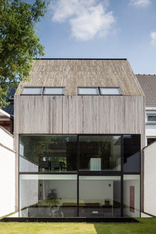 Wooden House CM / Bruno Vanbesien + Christophe Meersman © Tim Van de Velde