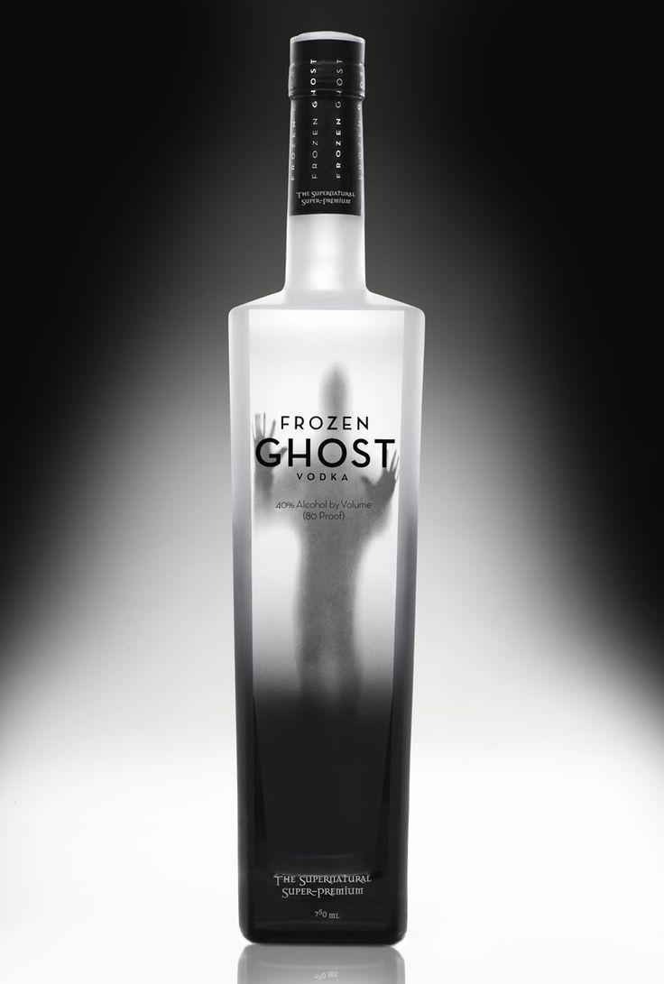 Frozen Ghost Vodka bottle designed by Richard Graves and Chuck Paris