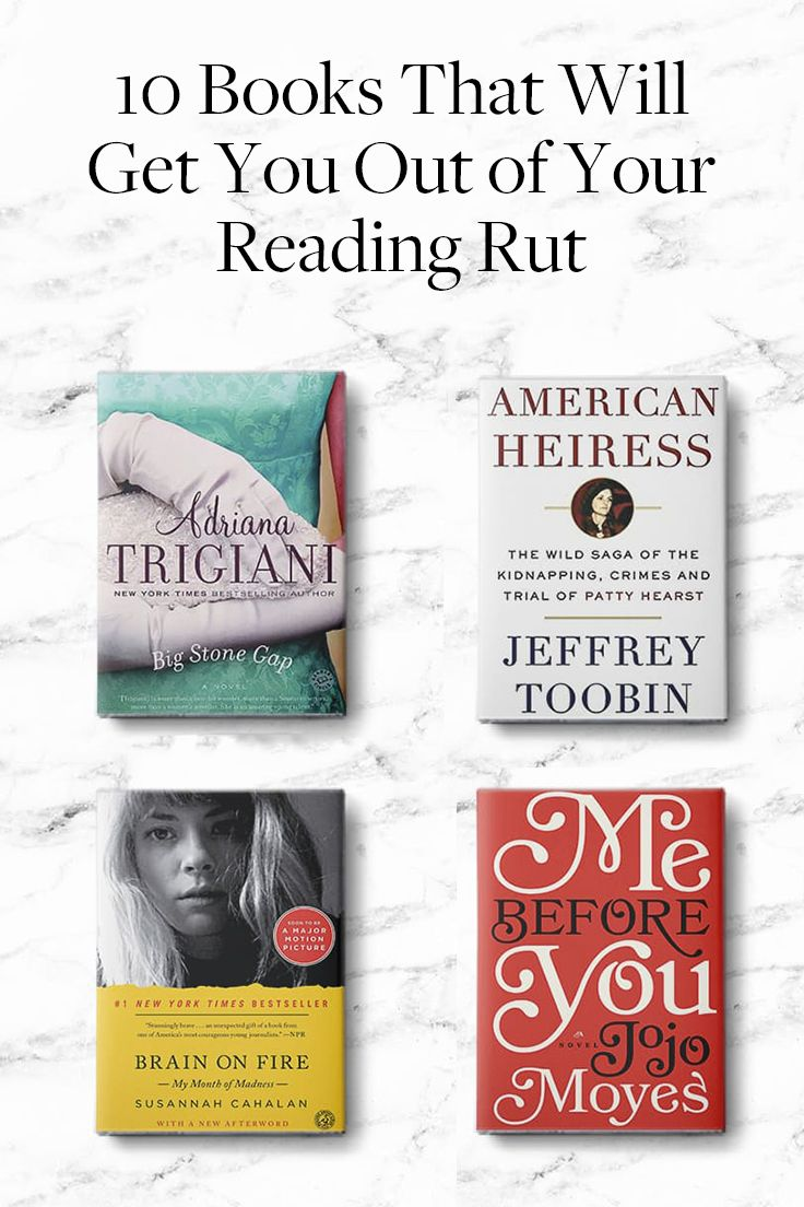 10 Books That Will Get You Out of Your Reading Rut via @PureWow via @PureWow