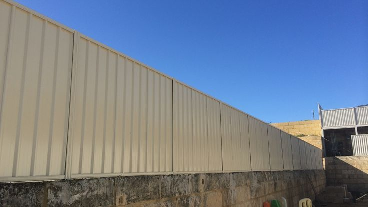 Supplying genuine Colorbond fencing and gates in Perth .