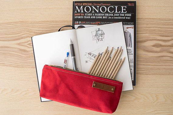Modern Coup Stock Pouch - Red