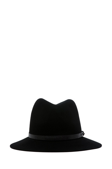 Rag and Bone black fedora hat for the dirrrty hipster in me ...