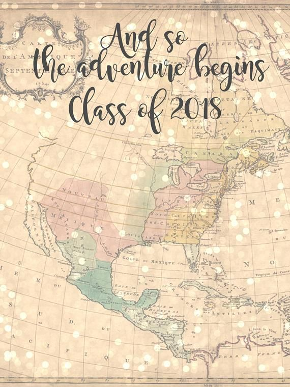 Vintage Map And So The Adventure Begins 3ft X 4ft Digital Printable Graduation Photo Photo Booth Backdrop Graduation Graduation Photo Booth Booth Backdrops