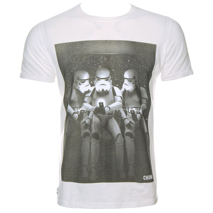Chunk Star Wars Network Galaxy T Shirt (White)