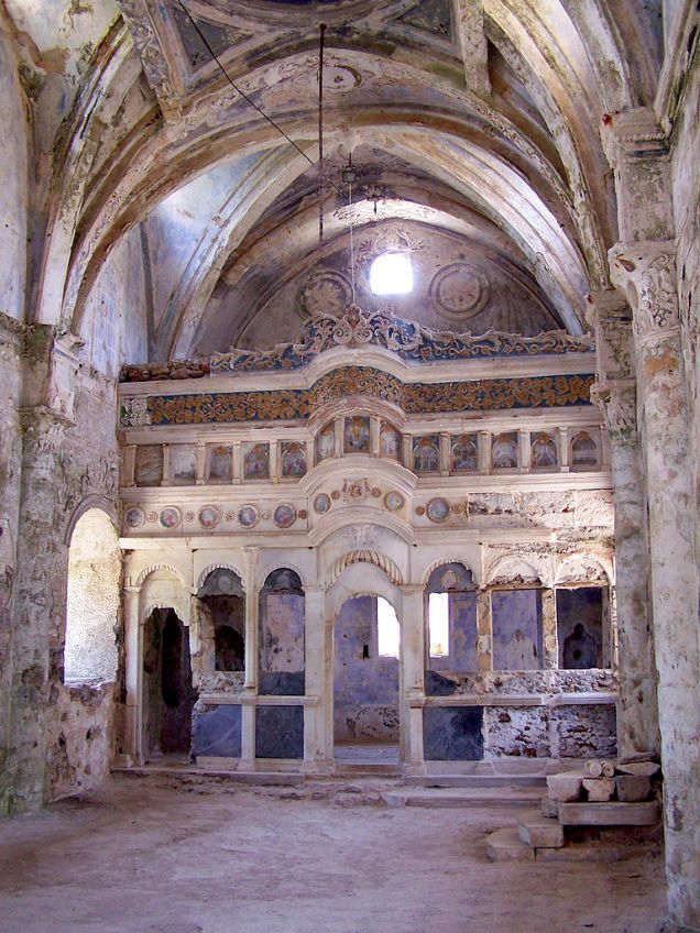 derelict church | Turkey