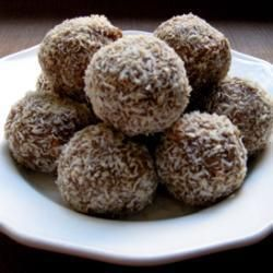 Chocolate Marshmallow (HINT: I use caramel chocolate in the center instead of marshmallows) Snowballs @ allrecipes.com.au