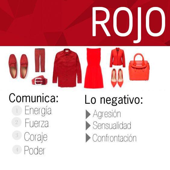 ¿Que dicen los colores de ti? #Rojo #Nadiesigual #es #Tendencia Los #colores comunican y trasmiten emociones, en #Nadiesigual compartimos que significado le dan a tus #outfits