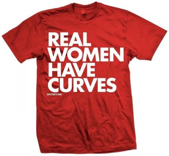 New REAL WOMEN HAVE CURVES T SHIRT NEW LICENSED DPCTED SHIRT #HANESTAGLESS #EmbellishedTee
