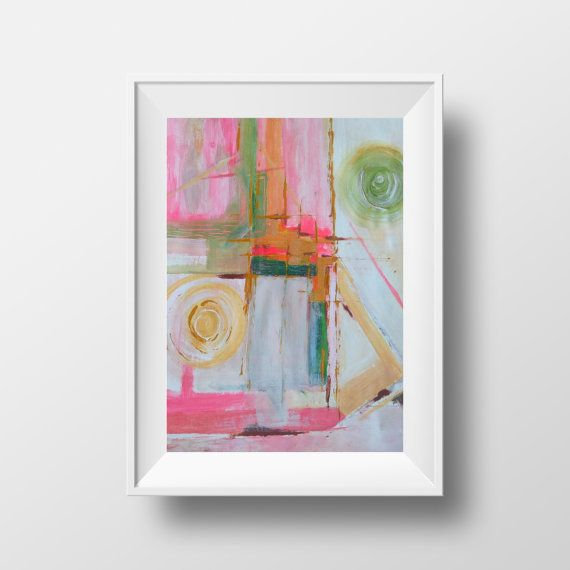 AVAILABLE - Feminine Blush Abstract Painting