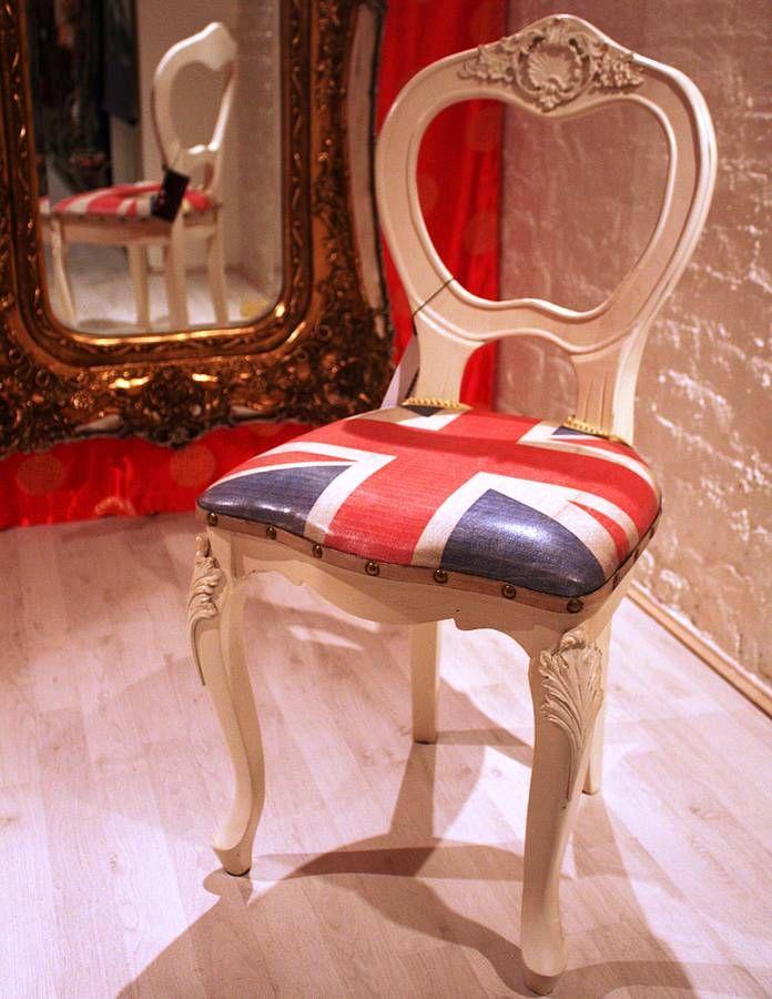 union jack chair by foxbat living + fashion   notonthehighstreet.com