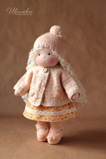Waldorf handmade toys. Fair Masters - handmade Waldorf doll. Handmade.