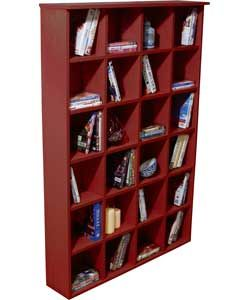 Buy Pigeon Hole Media Storage Unit - Mahogany at Argos.co.uk, visit Argos.co.uk to shop online for CD, video and DVD storage
