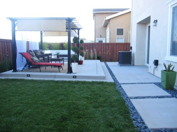 My Modern Contemporary Backyard With an Asian Flare