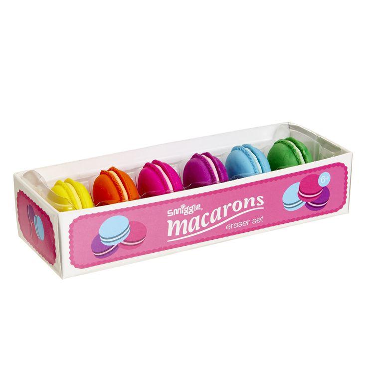 Macarons Eraser Box | Smiggle UK