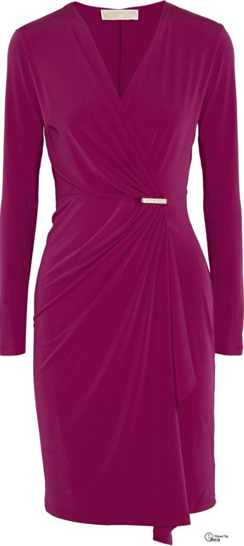 Wrap dress by Michael Kors