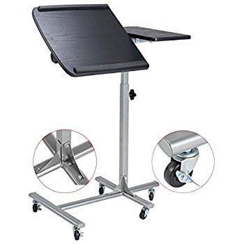 Black Mobile Computer Desk Portable & Adjustable Laptop Cart - Amazon Lightning Deal: $37.59 Free Shipping W/Prime #LavaHot http://www.lavahotdeals.com/us/cheap/black-mobile-computer-desk-portable-adjustable-laptop-cart/222222?utm_source=pinterest&utm_medium=rss&utm_campaign=at_lavahotdealsus