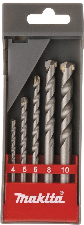 ¡Chollo! Kit de brocas Makita D-05175 para hormigon y piedra por tan sólo 2,77 euros.