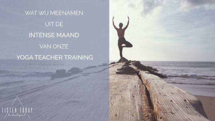 De eerste week van onze yoga teacher training dachten we: oh nee, waar zijn we aan begonnen! Maar na een maand vol uitdagingen kwamen we blij en voldaan terug. Dit is ons verhaal!