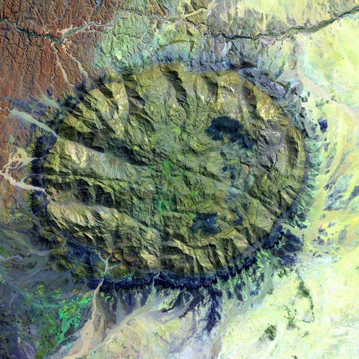 Brandberg Massif is a dome shaped granite intrusion