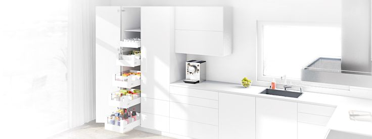 The perfect choice for storing provisions: SPACE TOWER larder unit