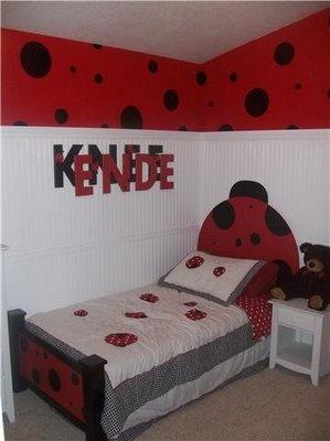Best 25 ladybug room ideas on pinterest handprint art for Bug themed bedroom ideas