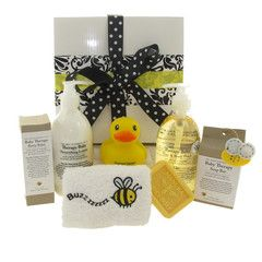 Buzzy Bee bath time hamper.