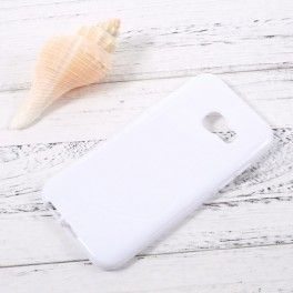 Samsung Galaxy A3 2017 valkoinen silikonisuojus.