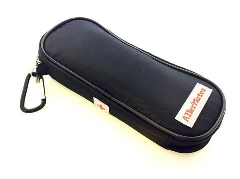 Insulated Medicine Case for Allergy Medicines like EpiPens®: Solid Black