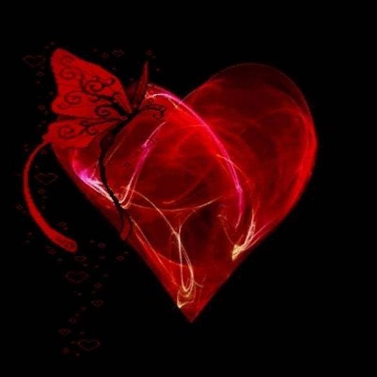 картинки с сердцами гиф горячем