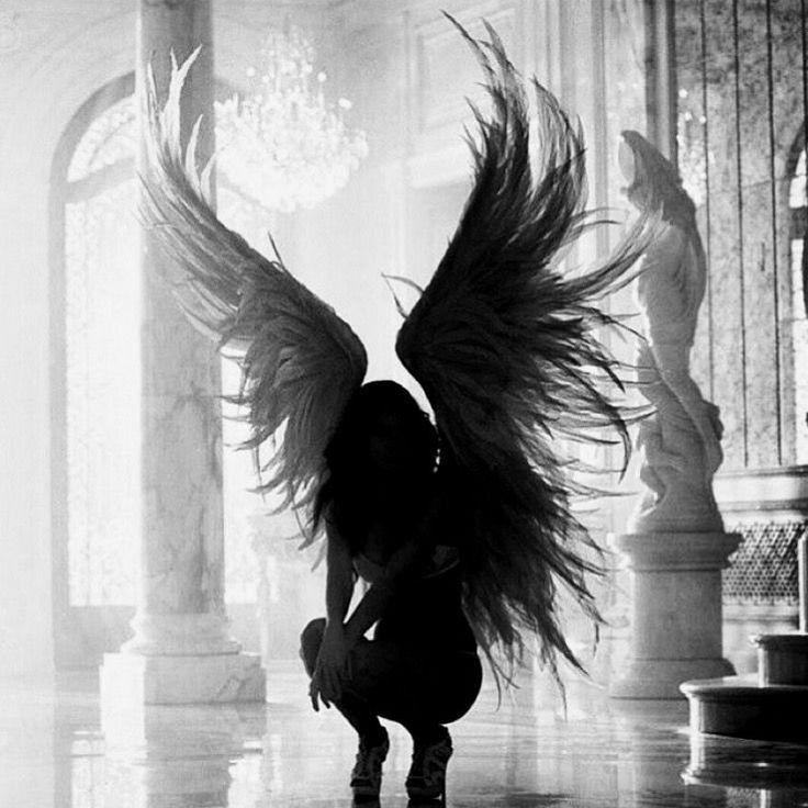 Картинки на аву в контакт с ангелом