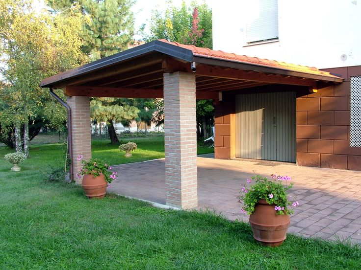 22 best images about carport e garage on pinterest 600 for Come costruire un garage in mattoni