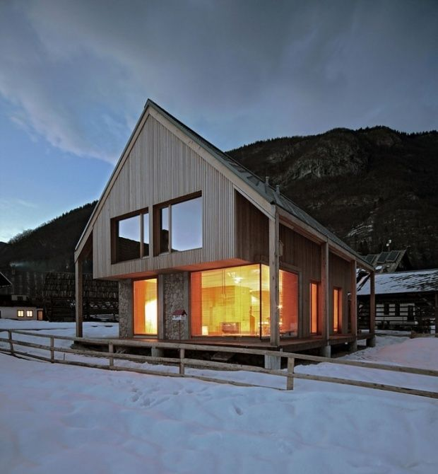 Alpine hut by OFIS Architects