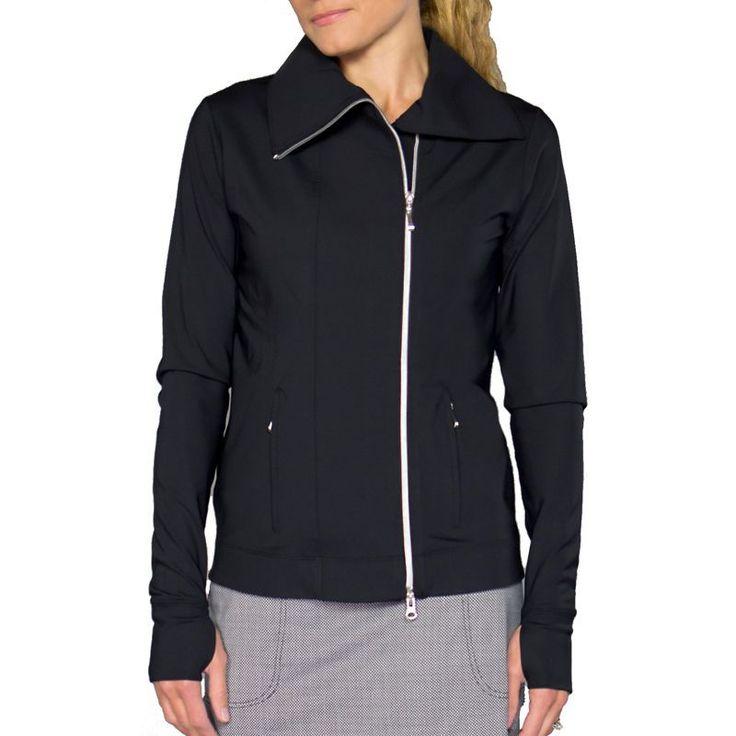 Jofit Women's Jet Set Golf Jacket, Size: Medium, Black
