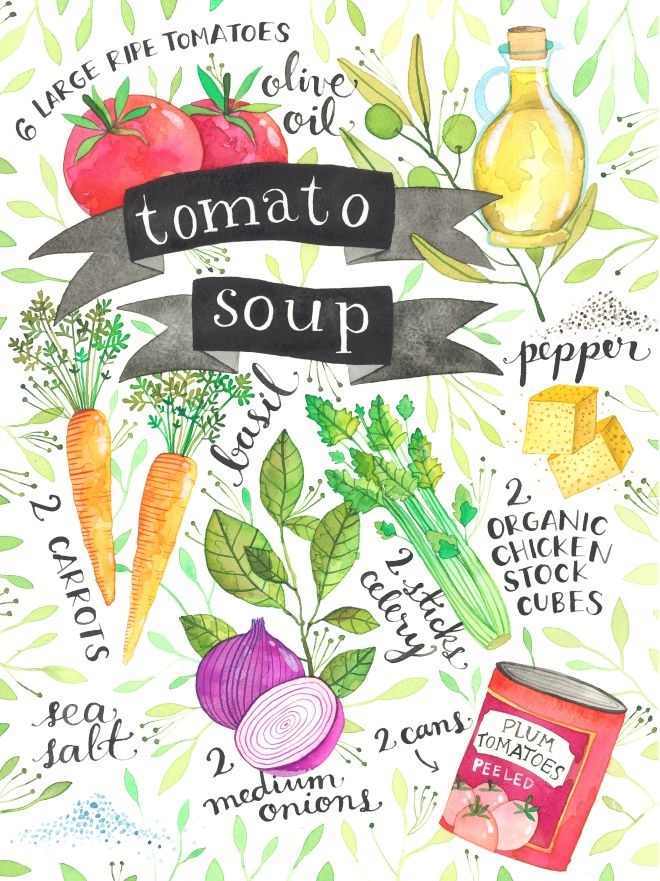 Tomato Soup - Ana Victoria Calderon