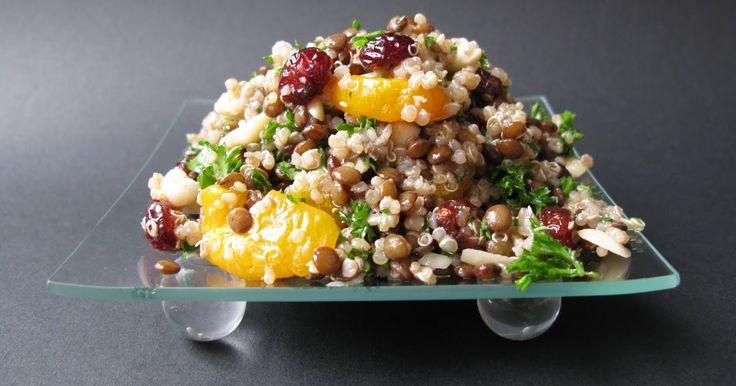 Le quinoa, vous connaissez? La recette que je vous propose aujourd'hui en comprend. Elle a accompagné délicieusement des pilons de poulet J...