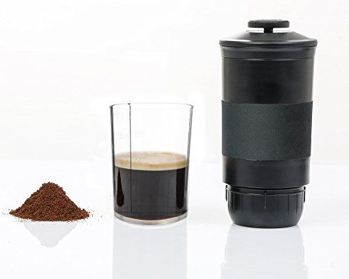 Portable Coffee Machine Hand Pressure Maker for Powder & Nespresso Coffee Capsules.    Light and flexible handheld coffee machine with an inventive outline and intense extraction pressure  Comes with a convenient waterproof pack for climbing and open air travel  You can without much of a stretch make enough weight, mix scrumptious coffee  It is a devoted gadget, just for Coffee Powder & Nespresso Coffee Capsules  Notice: please read the itemized guideline manual precisely before use