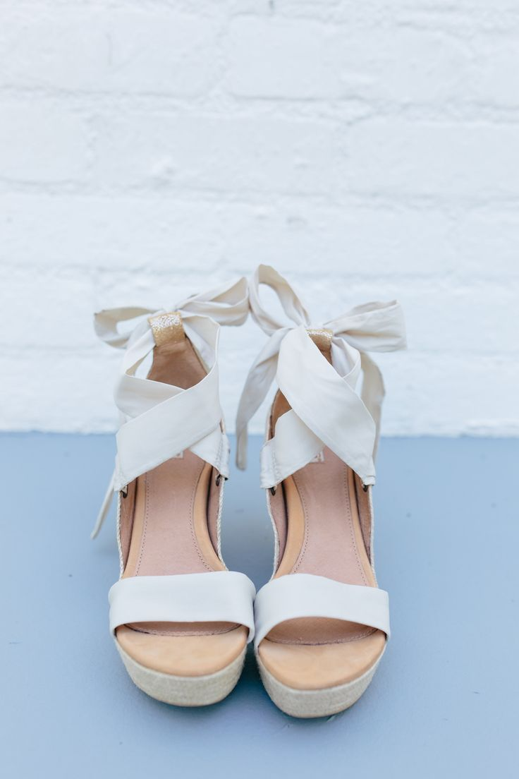 white wedges wedding shoes