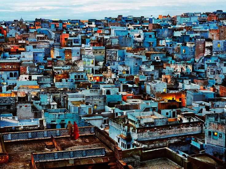 The Blue City    INDIA-11482