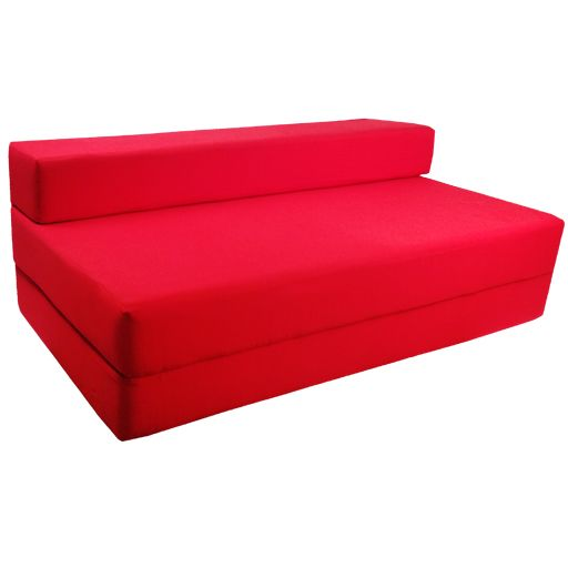 Details about Fold Out Foam Double Guest Z Bed Chair Folding Mattress Sofa Be