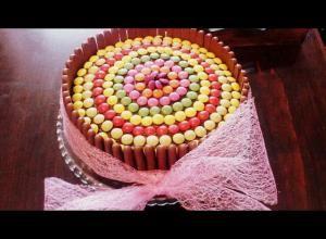 Lentilková čokoládová torta