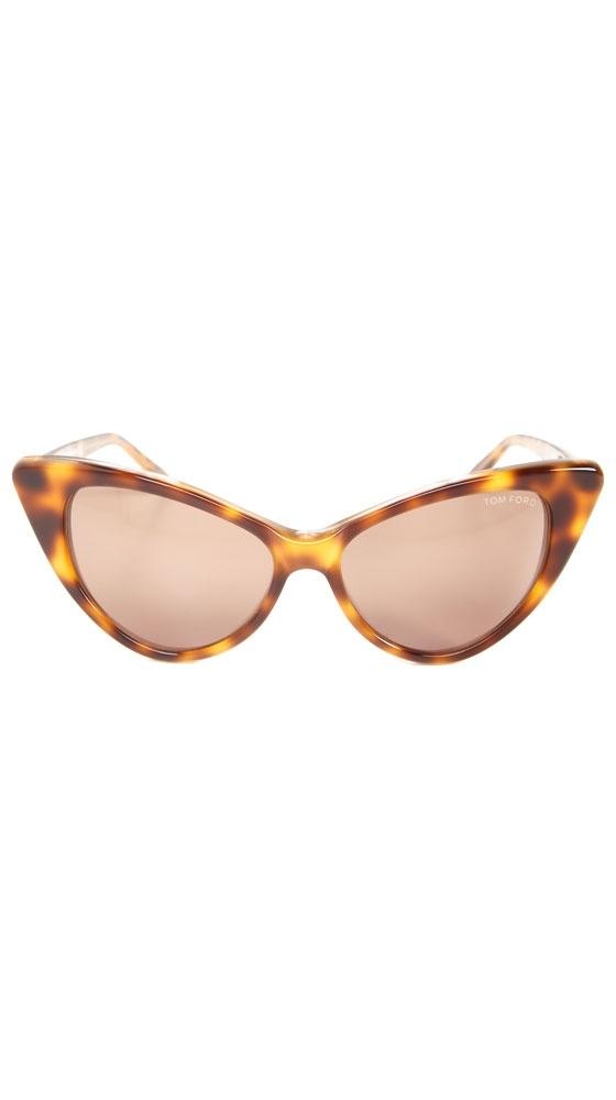 Nikita Tortoise Cat Eye Sunglasses / Tom Ford. #retro #vintage #pinup