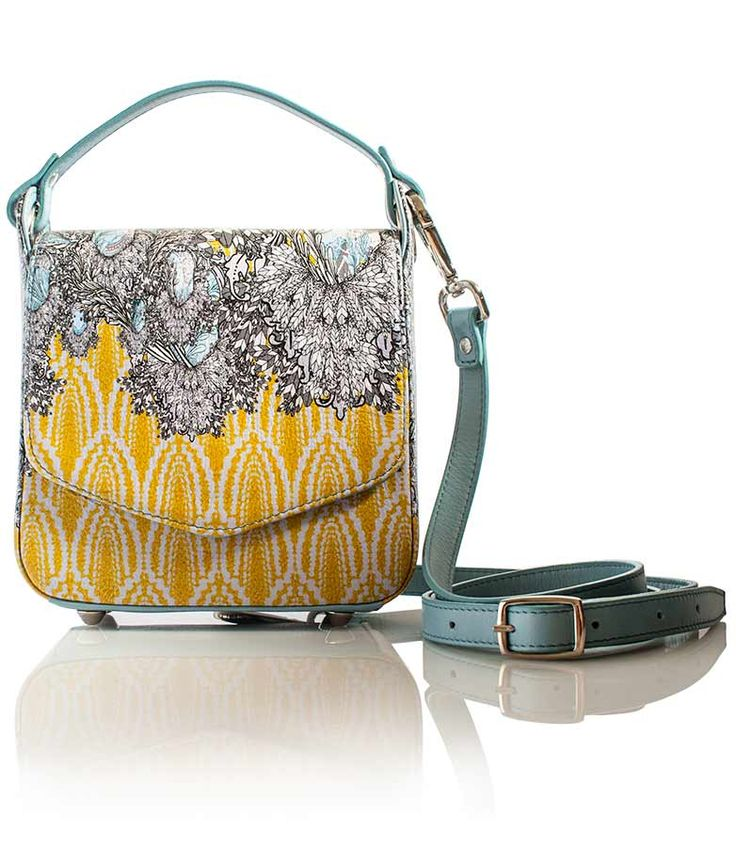 Lisa Ryder | Designer Handbags Can you see me? Small structured printed leather   cross-body handbag. www.lisaryderdesigns.ie